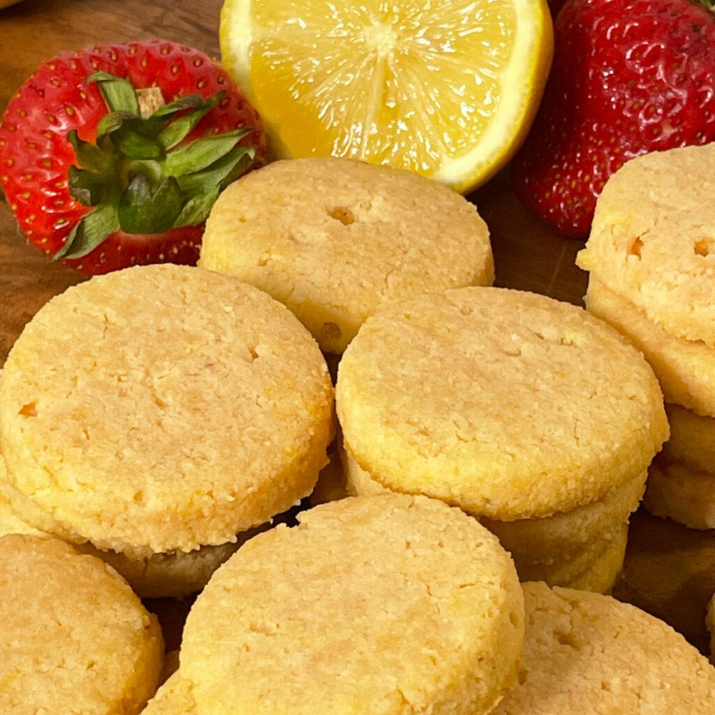 Keto Dessert Roundup Keto Strawberry Lemonade Cookies