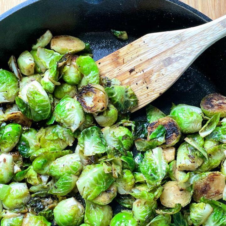 Sauteed Brussels Sprouts FEATURE