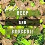 Keto Beef and Broccoli Pinterest