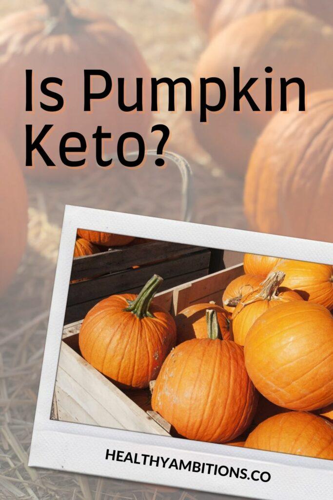 Is Pumpkin Keto Pinterest