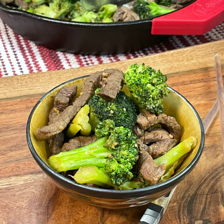 Keto Beef and Broccoli FEATURE