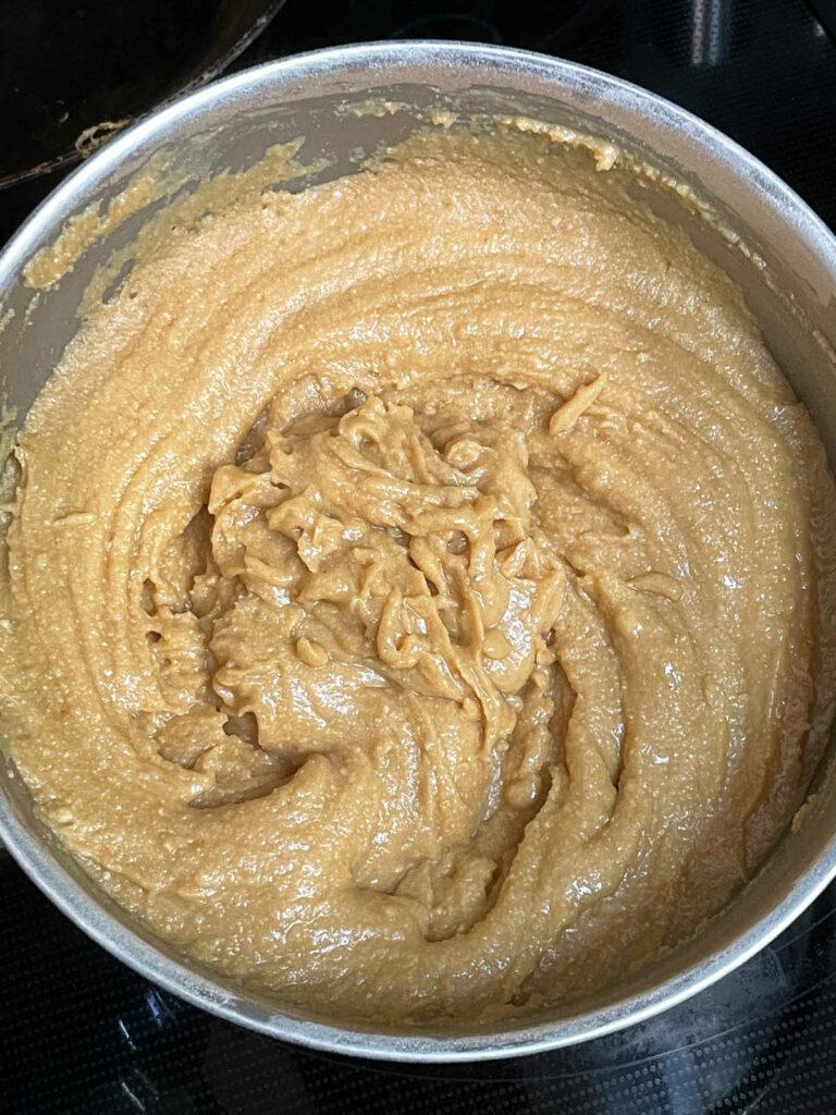Keto Peanut Butter Fudge cooked