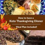 Keto Thanksgiving Dinner Pinterest