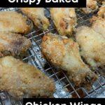 Crispy Baked Chicken Wings PINTEREST