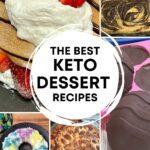 Keto Dessert Roundup PINTEREST