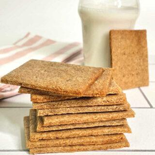 Keto Graham Crackers FEATURE