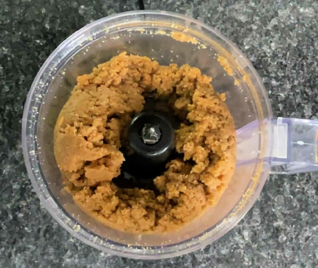 Keto Graham Crackers food processor