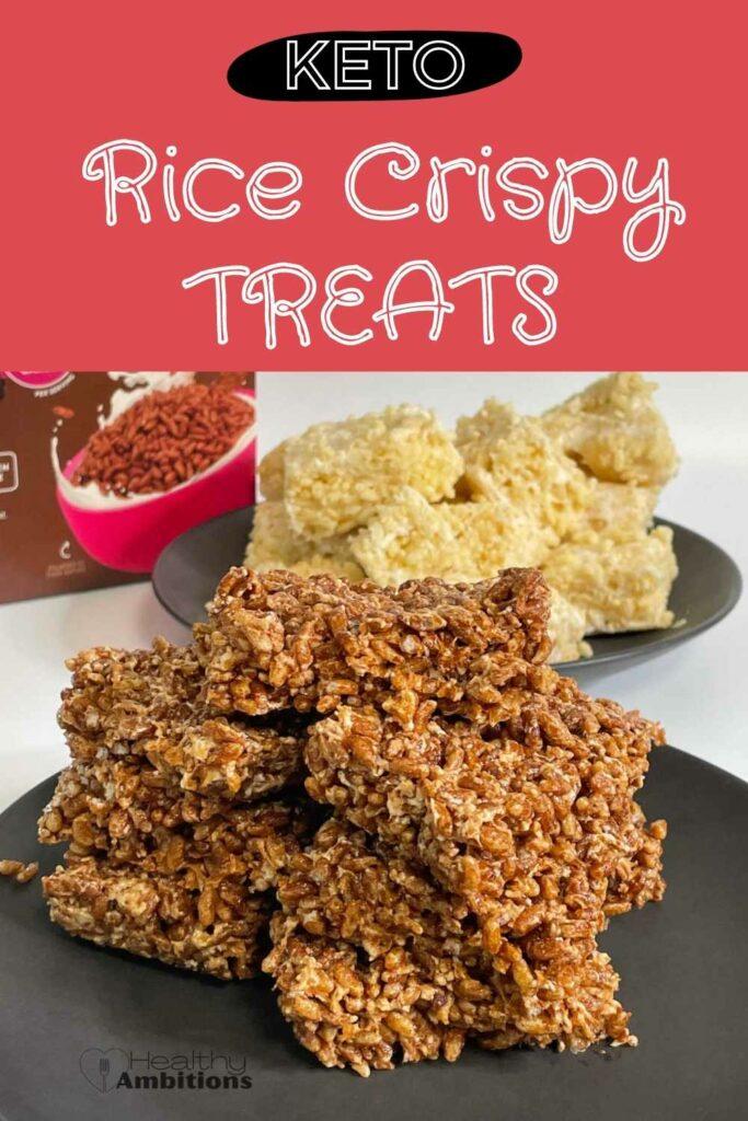 Keto Rice Crispy Treats PINTEREST