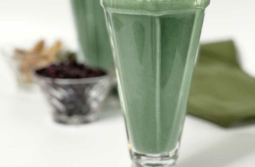 Keto Blueberry Protein Smoothie