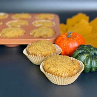 Keto Pumpkin Muffins FEATURE