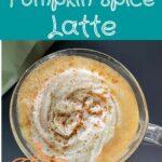 Keto Pumpkin Spice Latte Pinterest